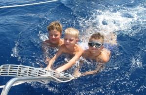 дети-яхтсмены