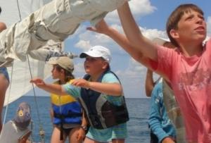обучение. Детский яхтинг