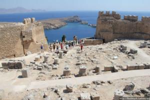 Руины в Греции