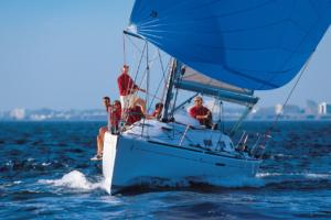 команда на яхте