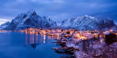 вечерняя Норвегия