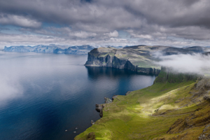 Норвегия. Туман.