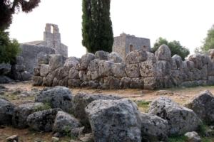 Древнй город на Родосе