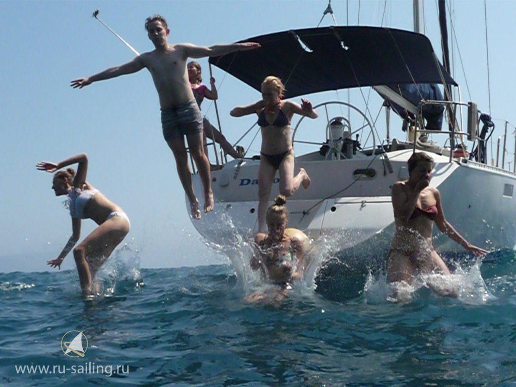 С воды мир другой или сравниваем отдых на пляже и на яхте 2